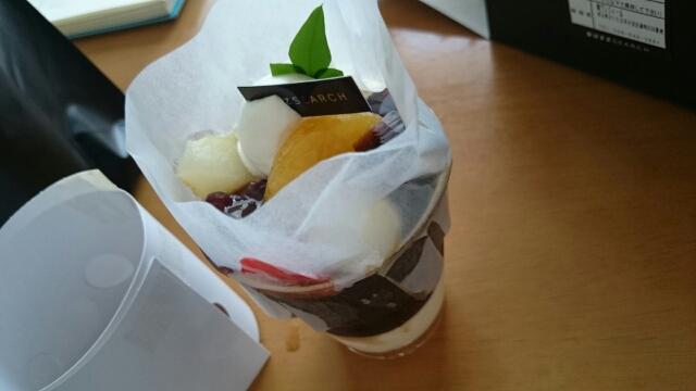 沖縄産黒糖あんみつ