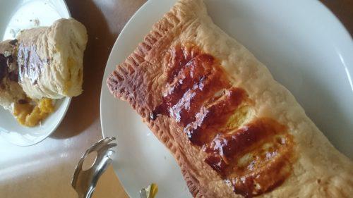 カボチャのパイ