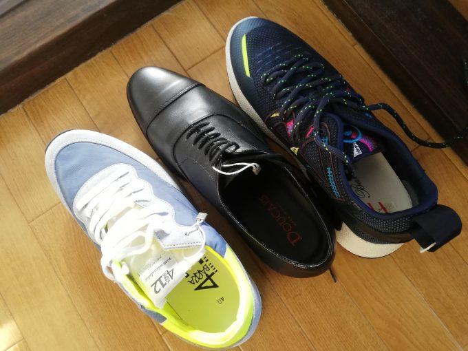 購入した靴